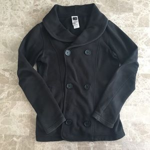 The North Face jacket in black